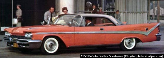 1959 DeSoto Fireflight Sportsman