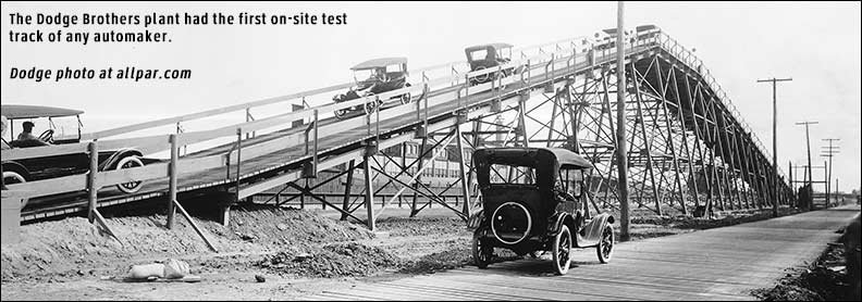 first car test track