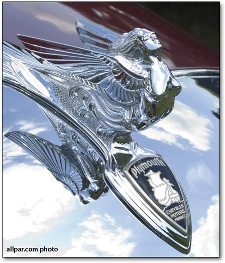 Flying Lady hood ornament