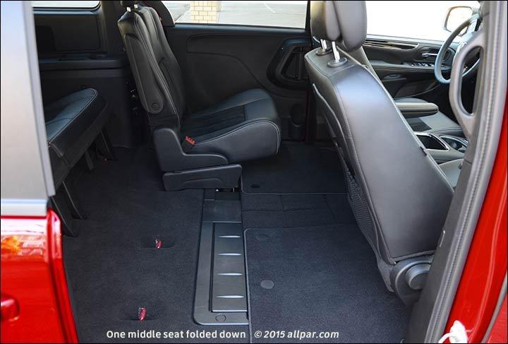Dodge Grand Caravan Back Seats Fold Down