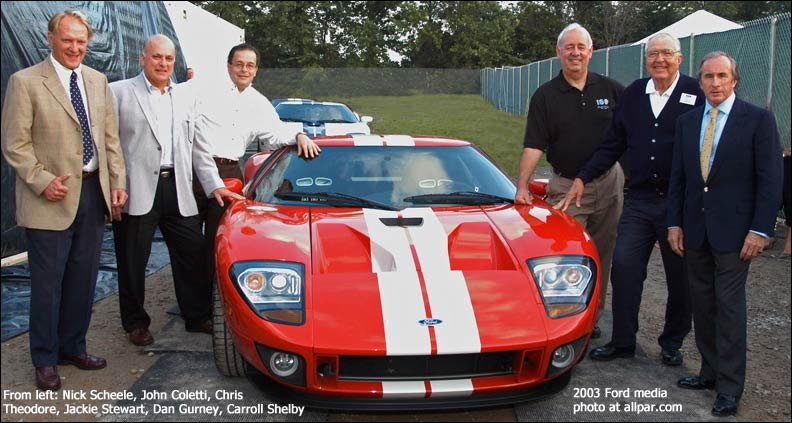 Chris Theodore and the Ford GT