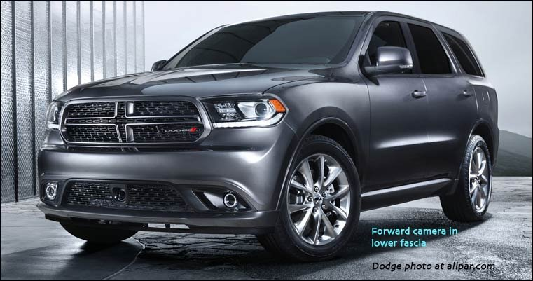 durango with forward collision warning