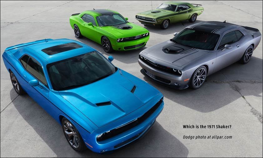 2015 2017 Dodge Challenger The Muscle Cars Return