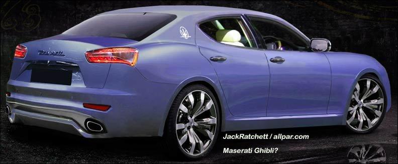 Maserati Levante concept car
