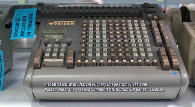 friden calculator