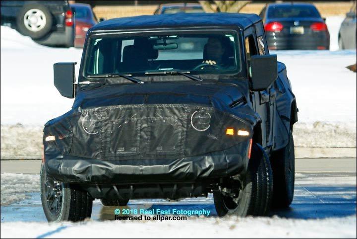2019 Jeep Wrangler, Part 4: The Scrambler (pickup) and J8