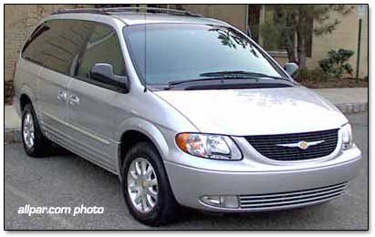 2001 Chrysler Town & Country car reviews