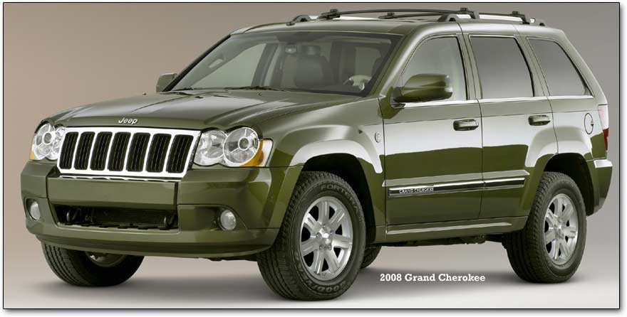 Jeep Grand Cherokee For 2008 2009
