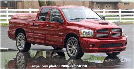 Tested: 2006 Dodge Ram SRT-10 Quad Cab review