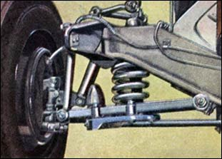 front wheel springs