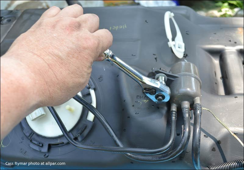 fuel pump and gas tank replacement on 2002  2001