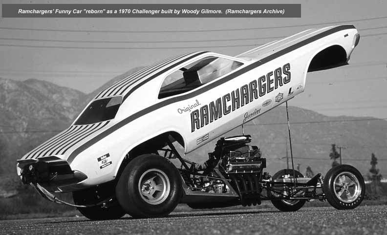 Dodge Ramchargers funny car