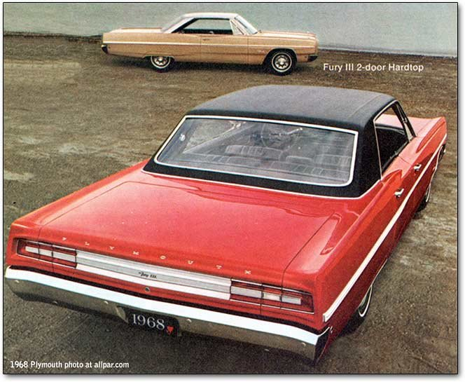 plymouth fury in its prime 1956 1974 from killer muscle car to 1968 plymouth fury