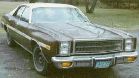 1977 Plymouth Fury car
