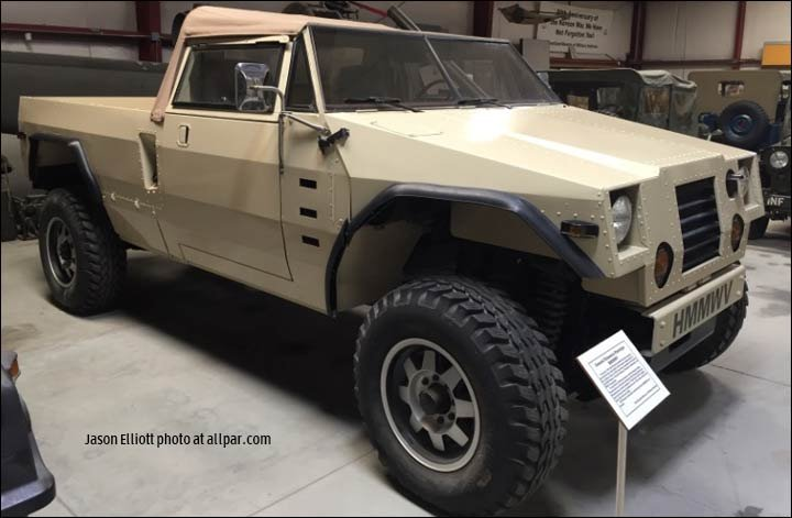 general dynamics prototype HMMWV