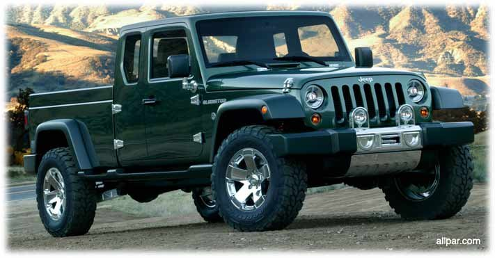 Jeep Gladiator concept car