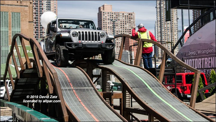 Jeep Gladiator at New York Auto Show