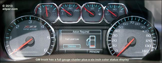 gm gauges