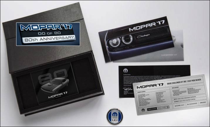 Mopar 17 owner kit