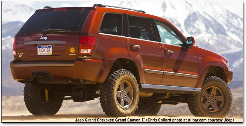 grand cherokee - grand canyon II