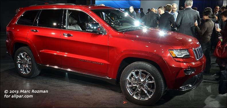 2014-2017 Jeep Grand Cherokee: the flagship Jeep luxury SUV