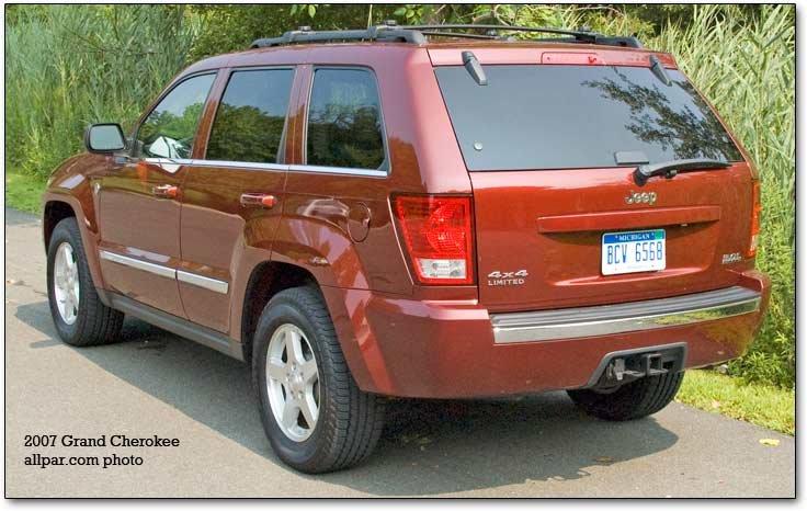 2005 2007 jeep grand cherokee hemi and diesel car reviews. Black Bedroom Furniture Sets. Home Design Ideas