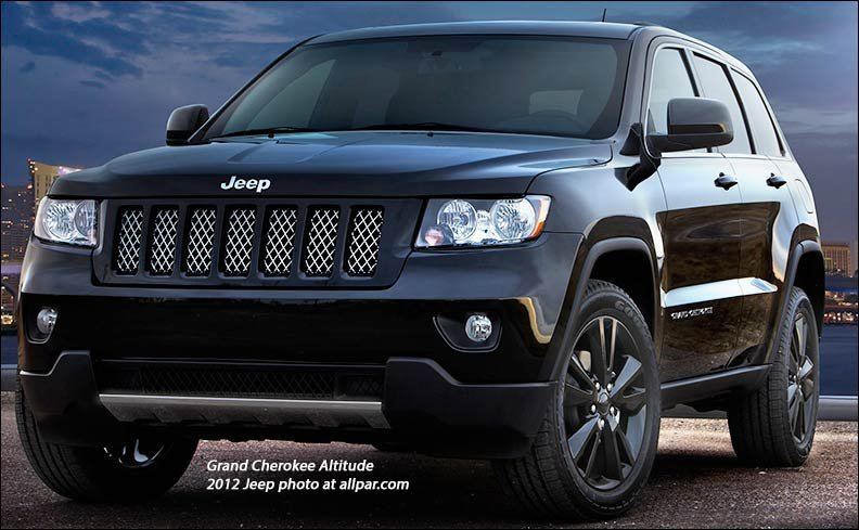 2012 Jeep Altitude Special Editions