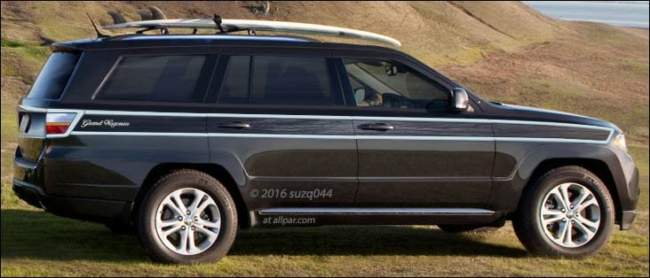 3rd Row Grand Cherokee >> Can it compare? The new Jeep Wagoneer