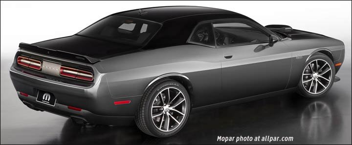 Mopar 17 Challenger First With A 392