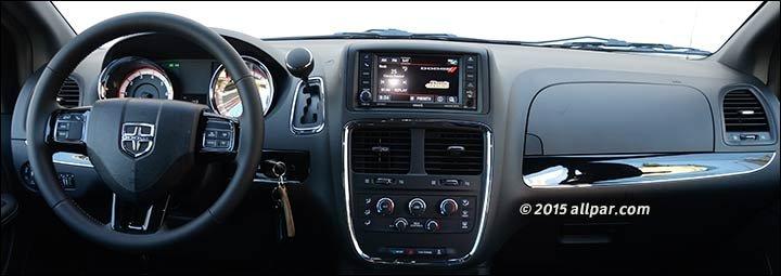 2017 Dodge Caravan Sxt Blacktop