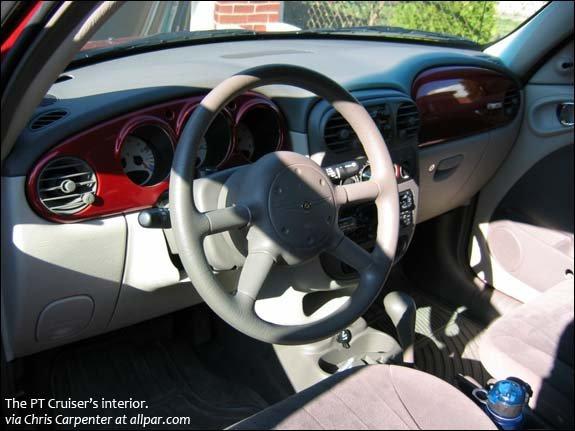 car of the month december 2012 benjamin gross 39 2001 chrysler pt cruiser. Black Bedroom Furniture Sets. Home Design Ideas