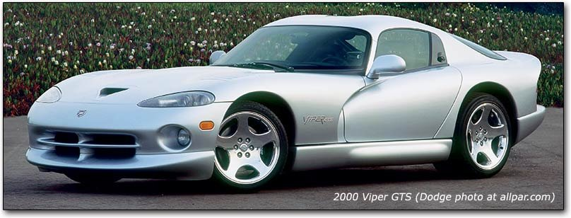 GTS the original dodge viper 1992 2002 including rt 10 and gts