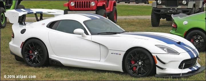 2017 Dodge Viper GTS-R