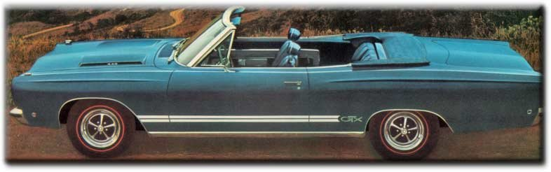 Quiz pochettes de disques et automobiles!  - Page 39 Gtx-convertible
