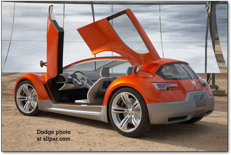 gull-wing doors