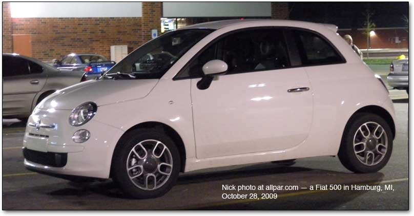 The Fiat 500: the first Fiat car to be made by Chrysler?