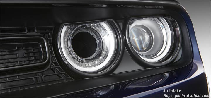 headlight intake