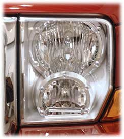 fancy jeep commander headlights