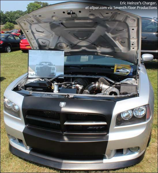 Heinze's Charger SRT-8 in show