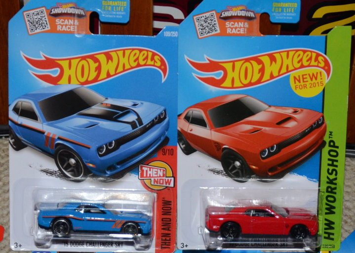 hellcat challenger hot wheels