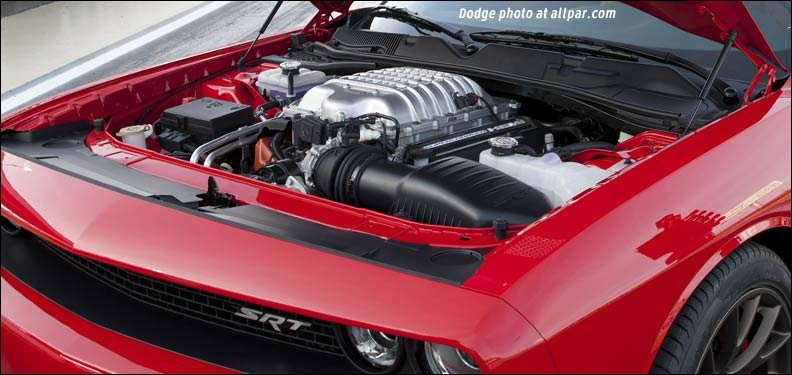 Supercharged Hellcat Engine
