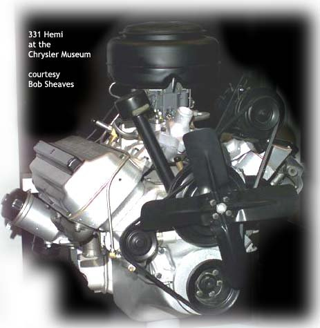 Chrysler 331 Hemi engine