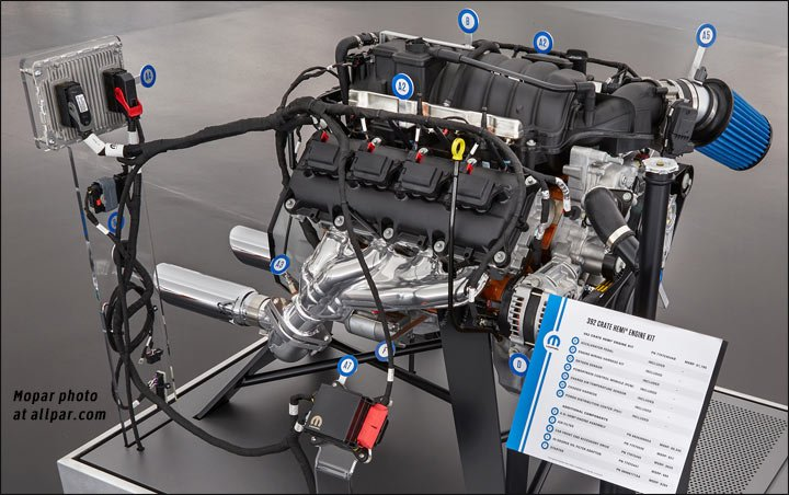 Mopar crate engine