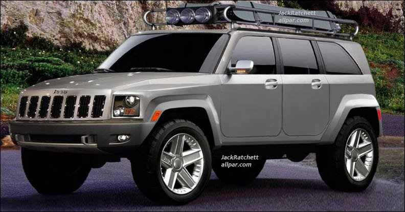 2014 Cherokee ) with the cheaper and more off-road-friendly XJ-style