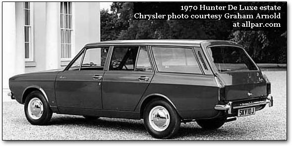 hillman hunter estate wagon