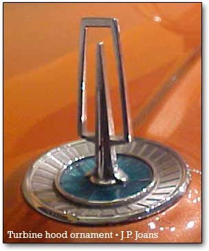turbine hood ornament