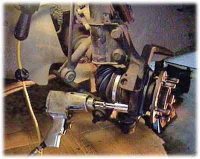 Replacing Hub Bearing Assembly On The Dodge Intrepid