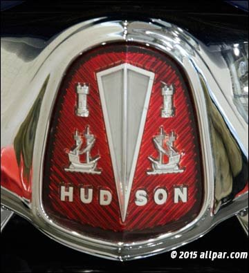 Hudson Hornet Badge Cars