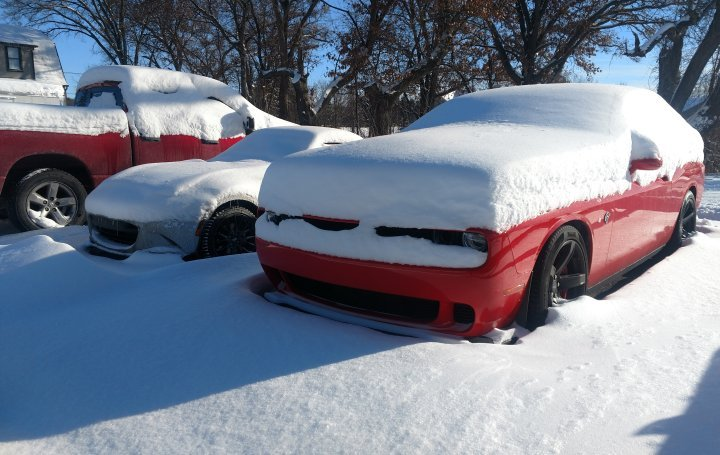News Long Term Hellcat Winter In Michigan