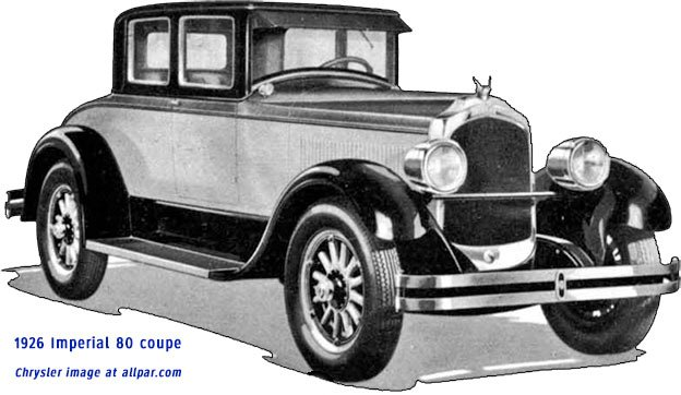 Imperial Cars 1926 1993 A Photographic History